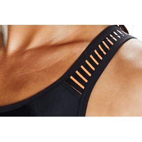 speedo Fit PowerMesh Pro Swimsuit Women Black/Fluo Orange